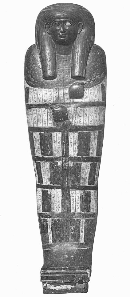 Exterior lid of the inner coffin of Ankhefenkhons i, Cairo GC 41.042
