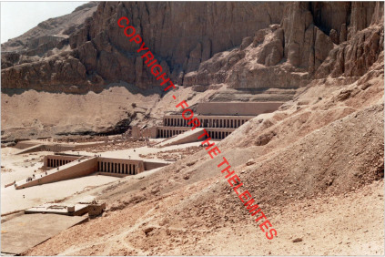The Temples at Deir el-Bahari in the 1980's