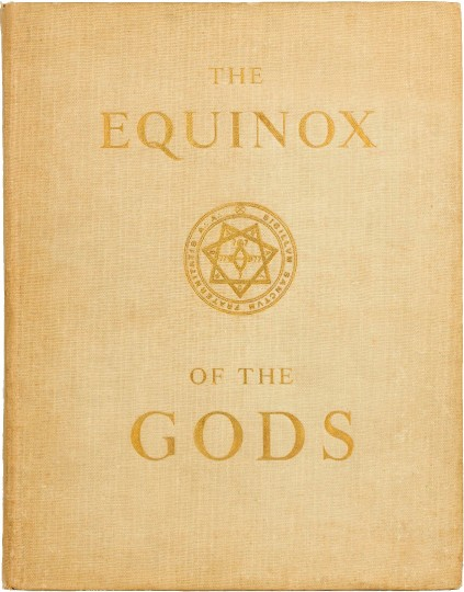 Front cover of The Equinox of the Gods, 1936 E.V.